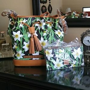Dooney & Bourke Daffodil Handbag and Clutch